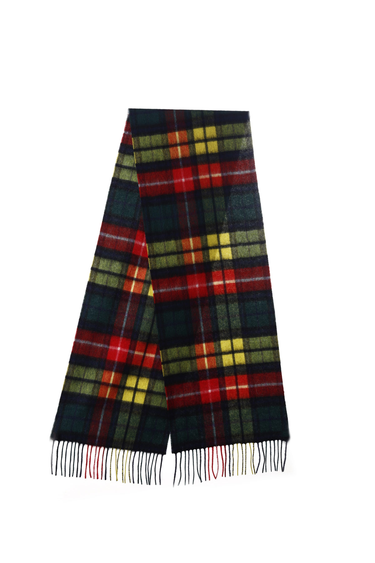 Edinburgh Lambswool Buchanan Tartan Lambswool Blanket